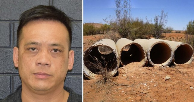 Phu Tran, 40, was discovered by a farmer on Tuesday on a remote farm in the Northern Territory near Alice Springs, police said.