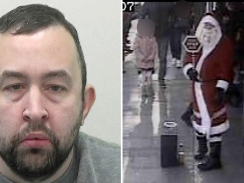 Sex offender dressed up as Santa and offered to take pictures with children