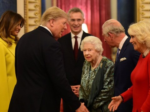 World leaders descend on Buckingham Palace for Nato visit hosted by Queen