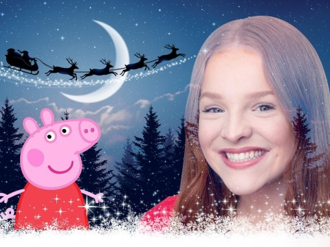 Peppa Pig promises to 'steal' Christmas number one from Robbie Williams as she drops Bing Bong Christmas