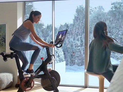 Peloton's Christmas spin bike advert slammed as 'straight trash' after accusations of sexism
