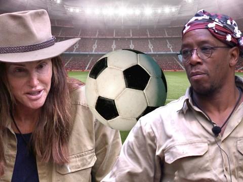 I'm A Celebrity's Caitlyn Jenner asks ex-professional footballer Ian Wright if he understands offside rule