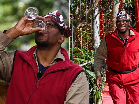 I'm A Celebrity's Ian Wright downs champagne after public vote him off from series