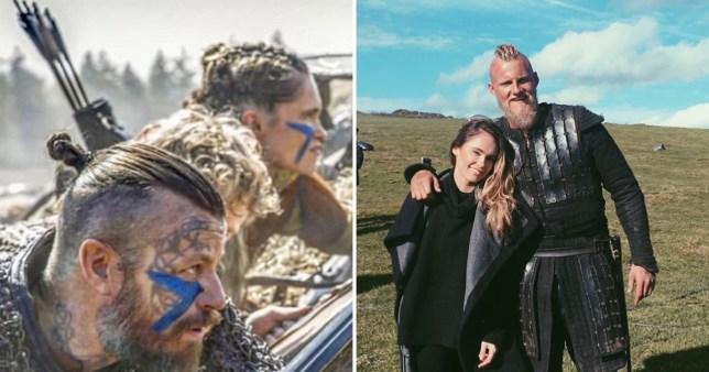Alexander Ludwig and Kristy Dawn Dinsmore Vikings