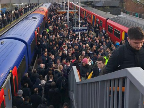 Angry commuter storms office of rail strike union and shouts 'you're ruining my f**king life'