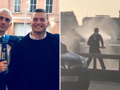 London Bridge hero was killer who turned life around thanks to Jack Merritt