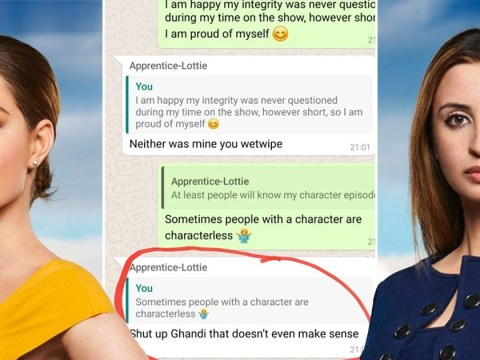 The Apprentice's Lubna Farhan 'exposes' Lottie Lion's 'Gandhi' remark in WhatsApp messages