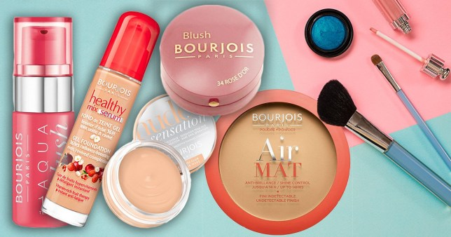 A selection of Bourjois products