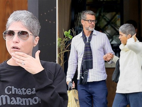 Selma Blair sparks engagement rumours after showing off a huge ring on her wedding finger