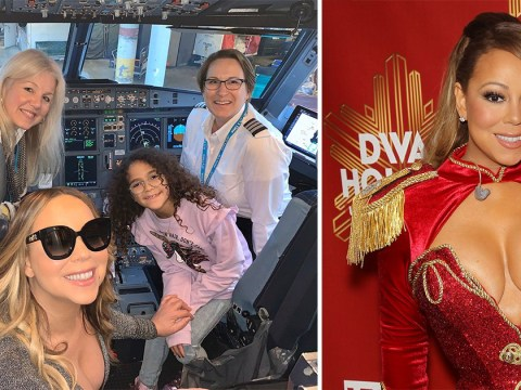 Mariah Carey is all about girl power as she celebrates female pilots: 'This is a first for us'