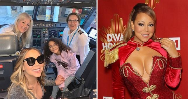 Mariah Carey celebrates female empowerment