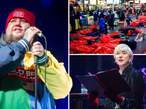 Thousands spend the night rough sleeping in World's Big Sleep Out