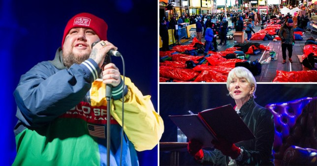 Celebs at the Big Sleep Out