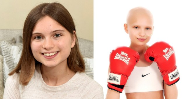 Teen who beat cancer vows to become a doctor to help others like her
