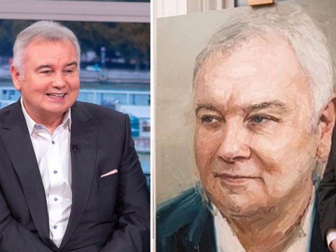Eamonn Holmes reveals impressive life-like portrait of himself as part of 60th birthday celebrations