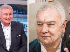 Eamonn Holmes reveals scarily life-like portrait of himself for 60th birthday