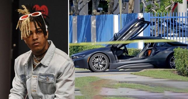 Fans think a memorial showing XXXtentacion's car is disrespectful
