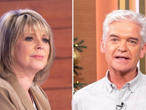 Ruth Langsford throws pen in fury on Loose Women after being cut off by Phillip Schofield in unearthed video