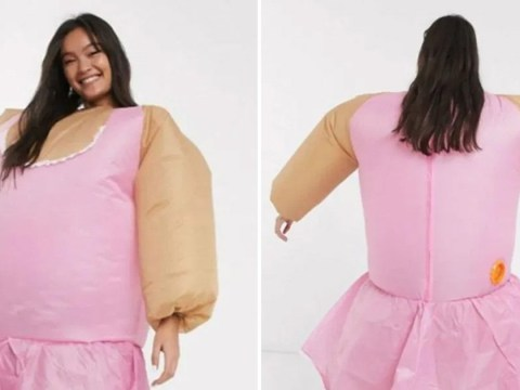ASOS withdraws 'ballerina charades' fat suit game after being accused of 'laughing at plus size bodies'