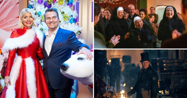 Three different shows on BBC One this Christmas