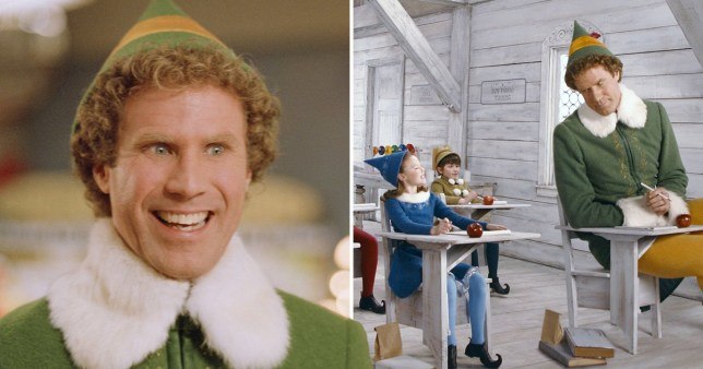 When is Elf on TV? Where and how to watch Will Ferrell's festive film in the UK this Christmas