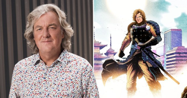 James May's anime character for Our Man In Japan