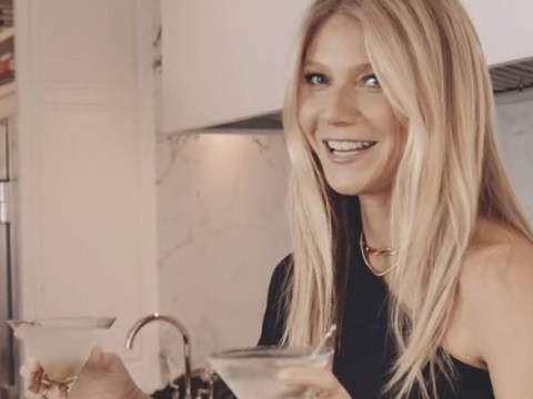Gwyneth Paltrow gets into the Christmas spirit with 'double-fisting' and vibrators