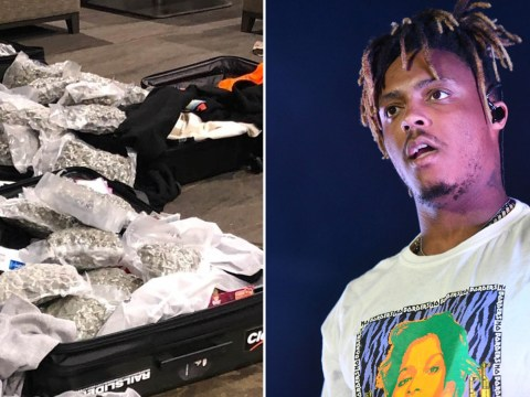 Juice Wrld 'took unknown pills' on flight before fatal seizure as '70lbs of marijuana' confiscated from private jet