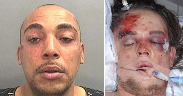 Angry neighbour accused of murdering a disabled man in a row over his barking dog