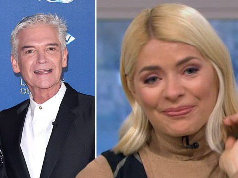 Holly Willoughby fights back tears over meeting Phillip Schofield and This Morning amid 'rift' rumours: 'There's a lot of history'