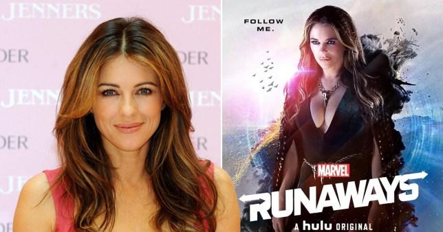 Liz Hurley Marvel's Runaways