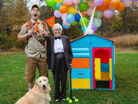 Grandma, 93, and grandson, 27, are best friends who dress up in costumes and travel together