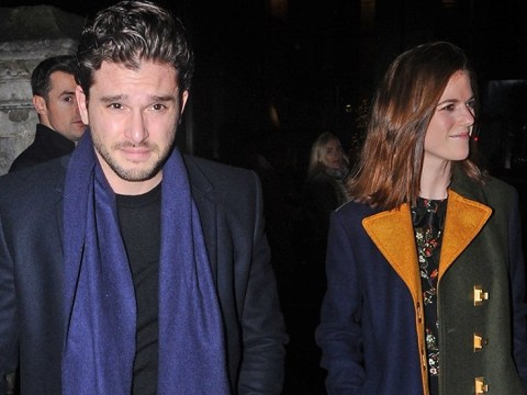 Game Of Thrones' Kit Harington and Rose Leslie get festive for rare public appearance after rehab stint