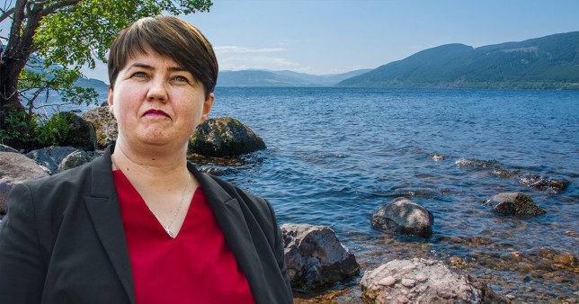 Ruth Davidson won't have to swim naked in Loch Ness after General Election bet