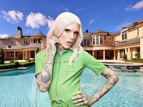 Inside Jeffree Star's enormous new $14 million mansion complete with two-floor gym and 13 bathrooms