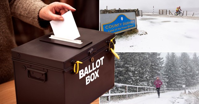 General election weather forecast says we'll be voting in wind and rain