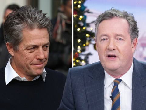 Piers Morgan and Hugh Grant at one another's necks as they sling mud in war of words