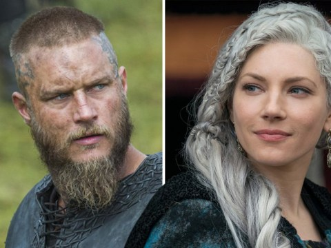 Vikings' Katheryn Winnick snubs Travis Fimmel as she says Sean Penn is favourite person to work with