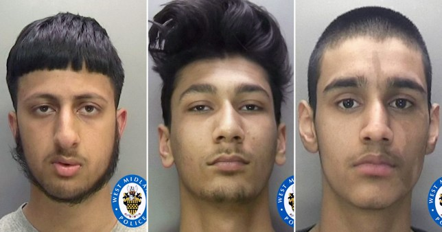 Mohammed Sohail Khan, Qaasim Ahmad and Muhammad Umar, all 18,  were jailed for a total of 37 years for homophobic hate crimes using Grindr in Birmingham