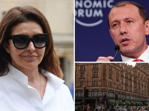 Wife who went on £16,000,000 Harrods spending spree in bid to overturn court order