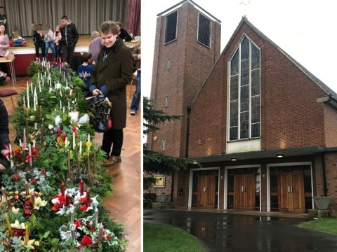 Warning over candles after boy suffers severe burns at carol service