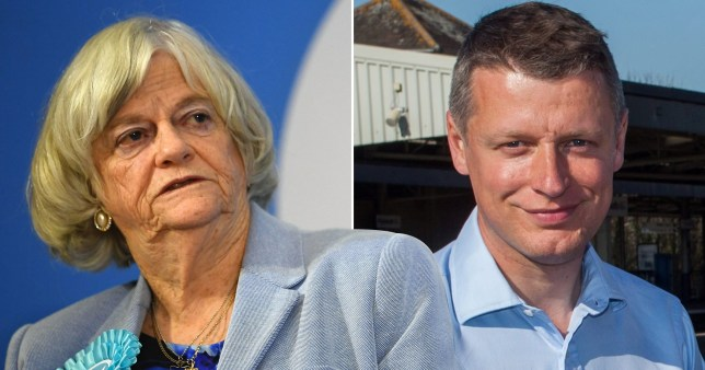 Ann Widdecombe beaten in general election by gay remain MP