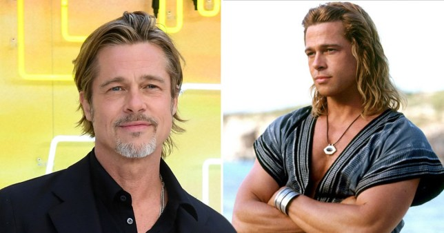 Brad Pitt reveals he was 'forced' to star in Troy and it made him rethink his roles