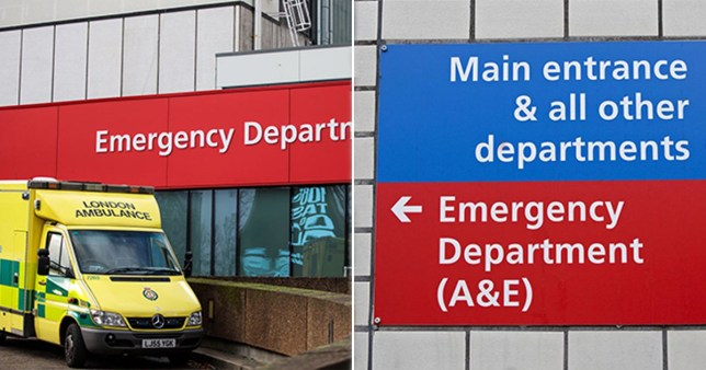 a&e waiting times NHS