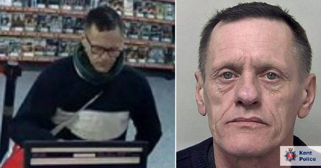 Robber who held syringe to 91-year-old woman's neck during violent raid jailed