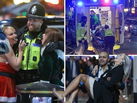 Festive revellers hit streets of Birmingham as boozy Christmas party season begins