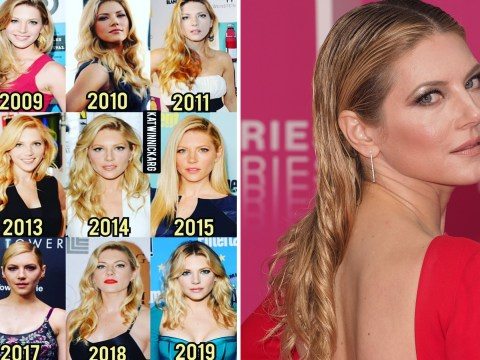Vikings' Katheryn Winnick leaves us all shook with 'ageless' 10-year challenge