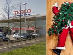 Father Christmas 'attacked in Tesco grotto by shoplifter'