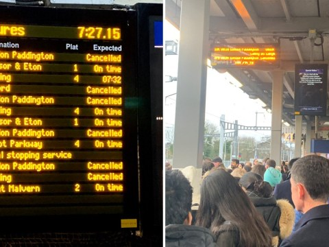 Rail commuters on major route to London hit by delays as new timetable starts