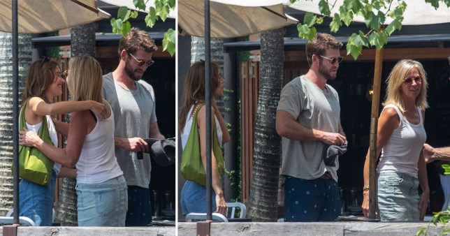 Liam Hemsworth introduces Gabriella Brooks to family
